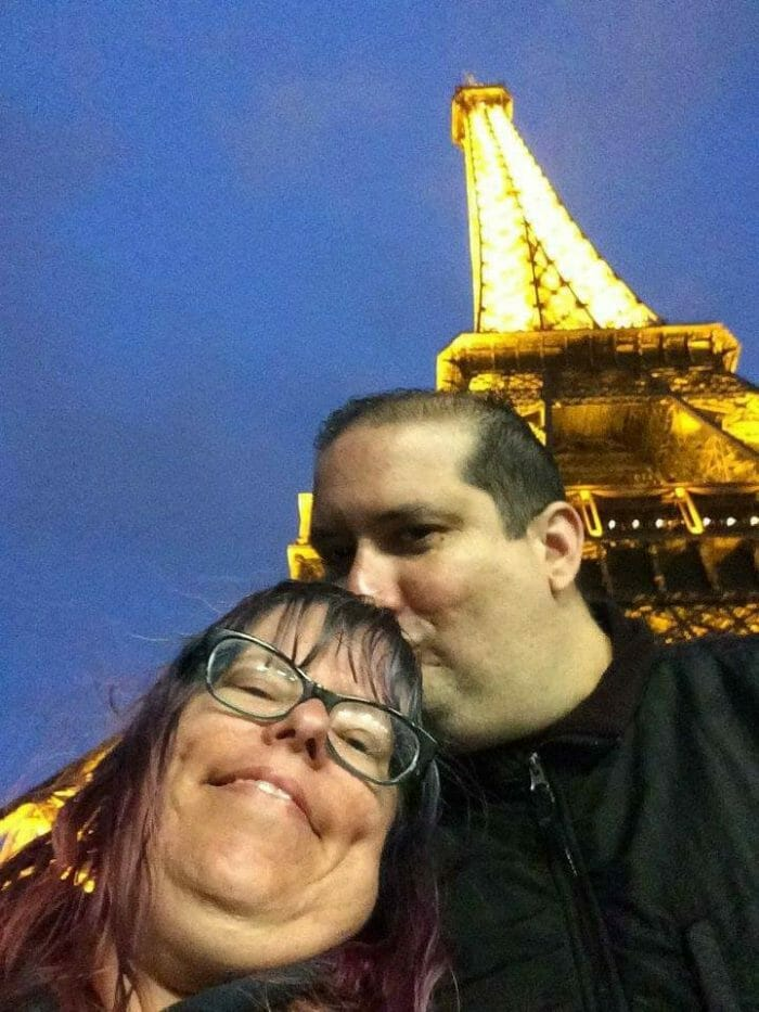 Desiree's Proposal in Eiffel Tower, Paris, France