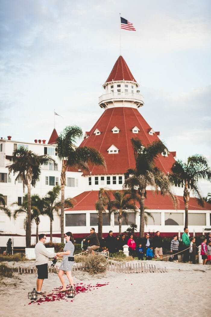 Proposal Ideas Hotel del Coronado - San Diego, California