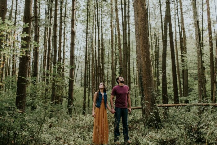 Engagement Proposal Ideas in Lieber State Park