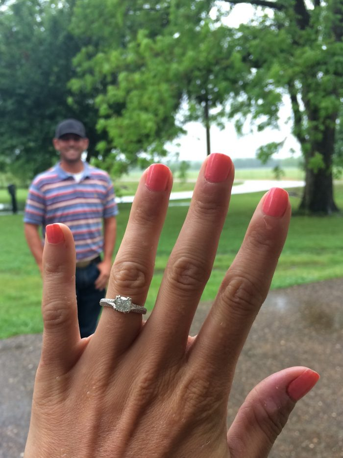 Wedding Proposal Ideas in Where we first met in Stephenville, TX