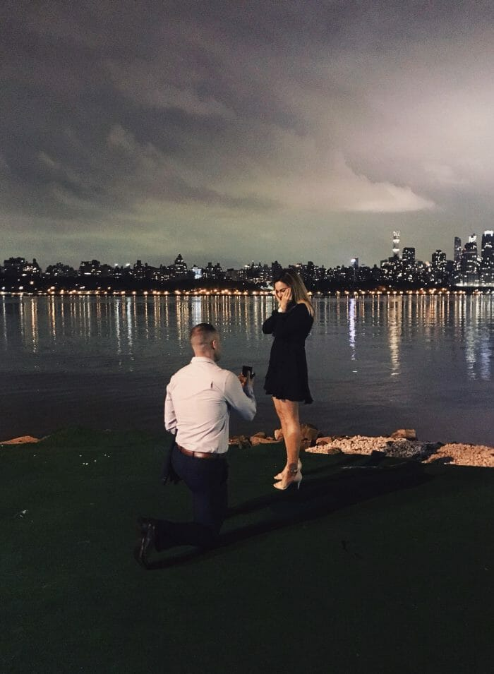 Where to Propose in Waterside Restaurant