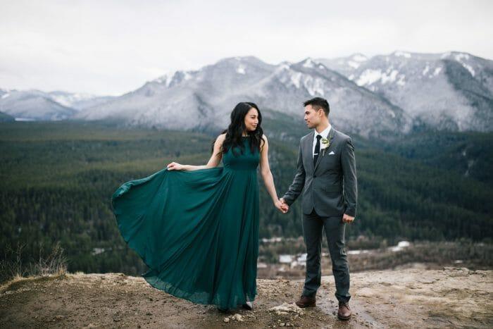 Marriage Proposal Ideas in Rattlesnake Ledge, Washington State