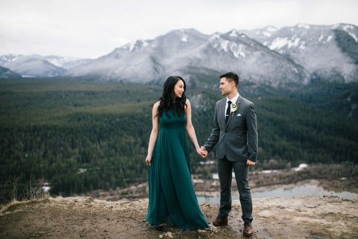 Tino's Proposal in Rattlesnake Ledge, Washington State