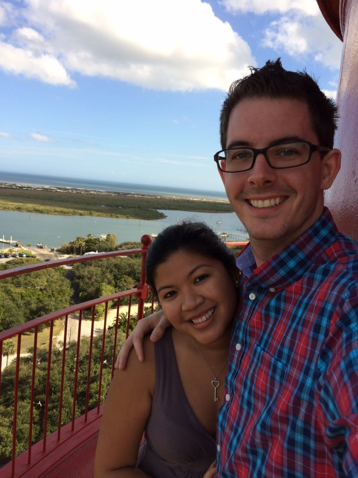 Samantha and Joey's Engagement in Kraft Azaela Gardens