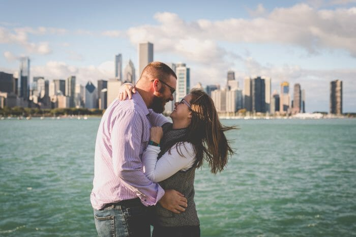 Wedding Proposal Ideas in Adler Planetarium, Chicago, IL