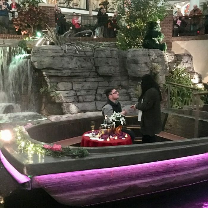 Marriage Proposal Ideas in Gaylord Opryland Resort