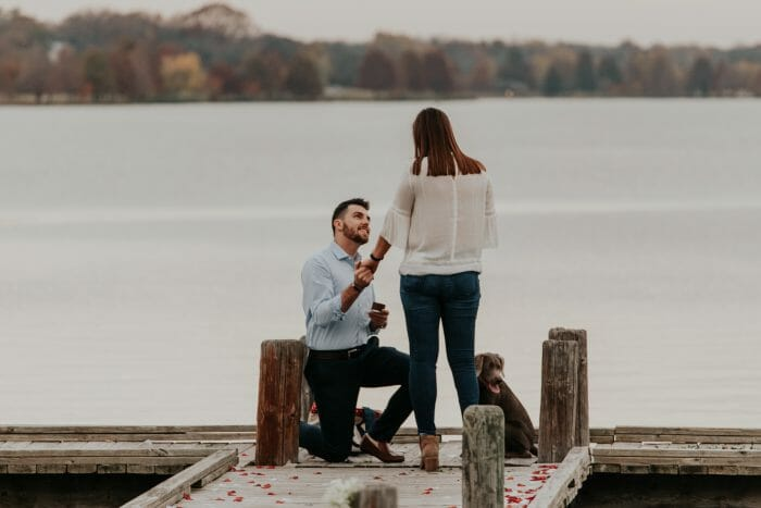 Marriage Proposal Ideas in White Rock Lake, Dallas, Texas