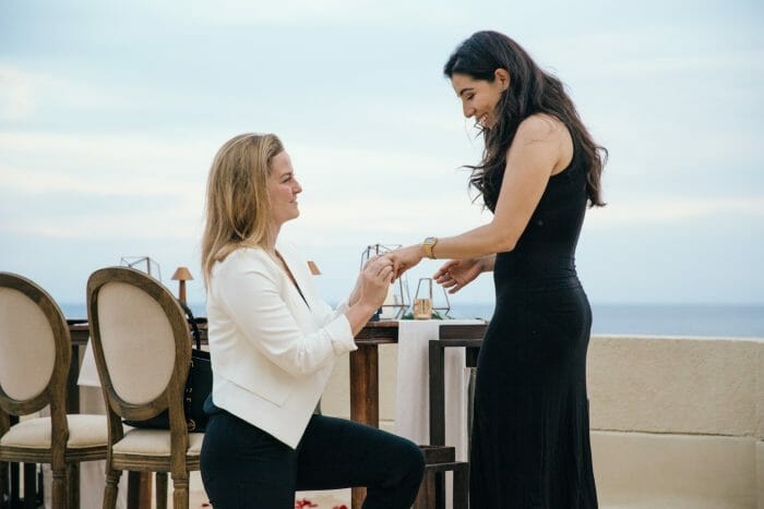 Cathryn's Proposal in Cabo San Lucas
