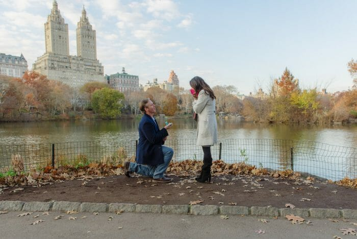 Where to Propose in Central Park New York, New York