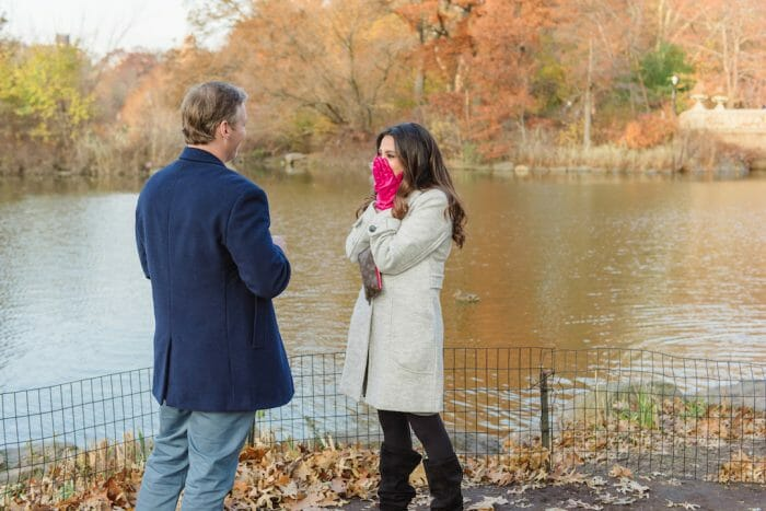 Wedding Proposal Ideas in Central Park New York, New York