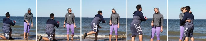 Kelsey's Proposal in Calvert Cliffs State Park