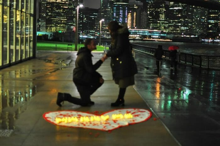 Engagement Proposal Ideas in Downtown Brooklyn