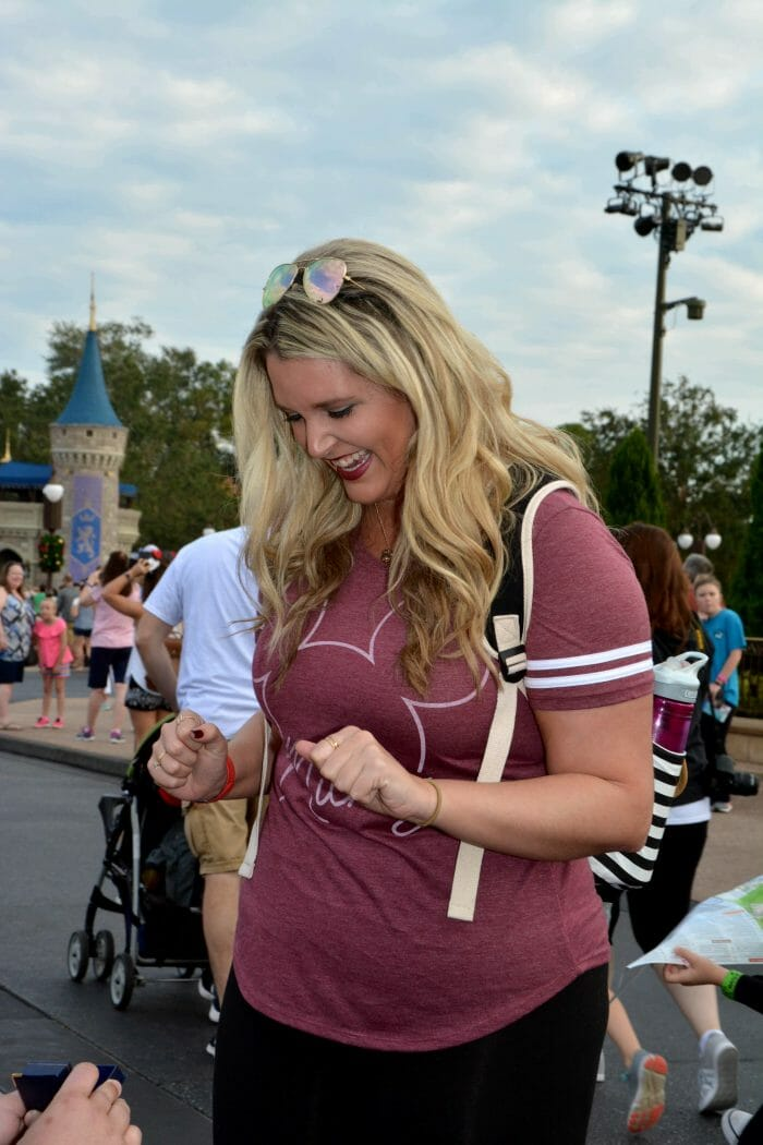 Kelsey and Mark's Engagement in Disney World's Magic Kingdom