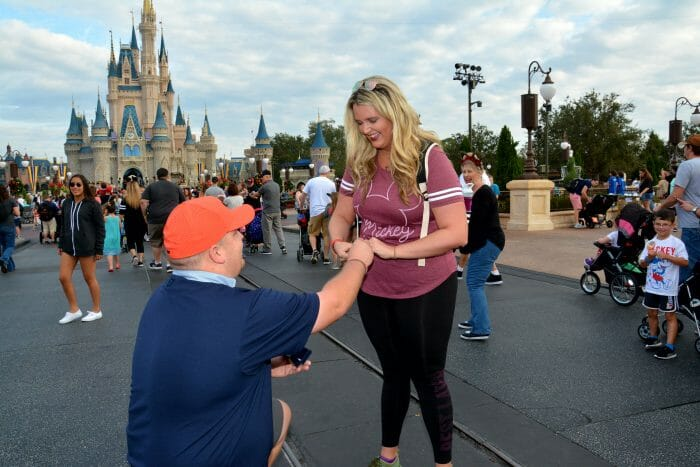 Wedding Proposal Ideas in Disney World's Magic Kingdom