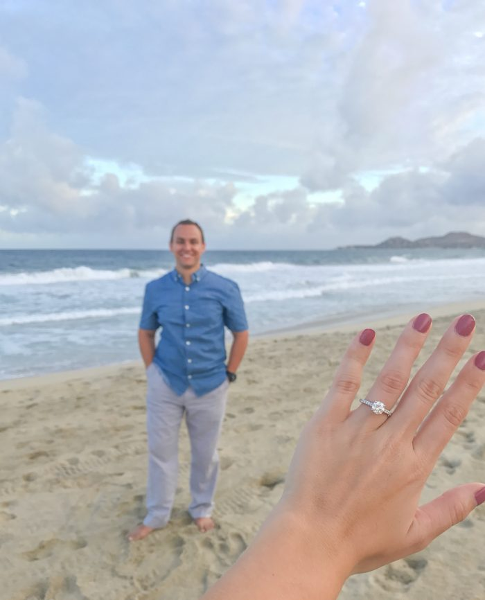 Patricia's Proposal in Cabo San Lucas, MX