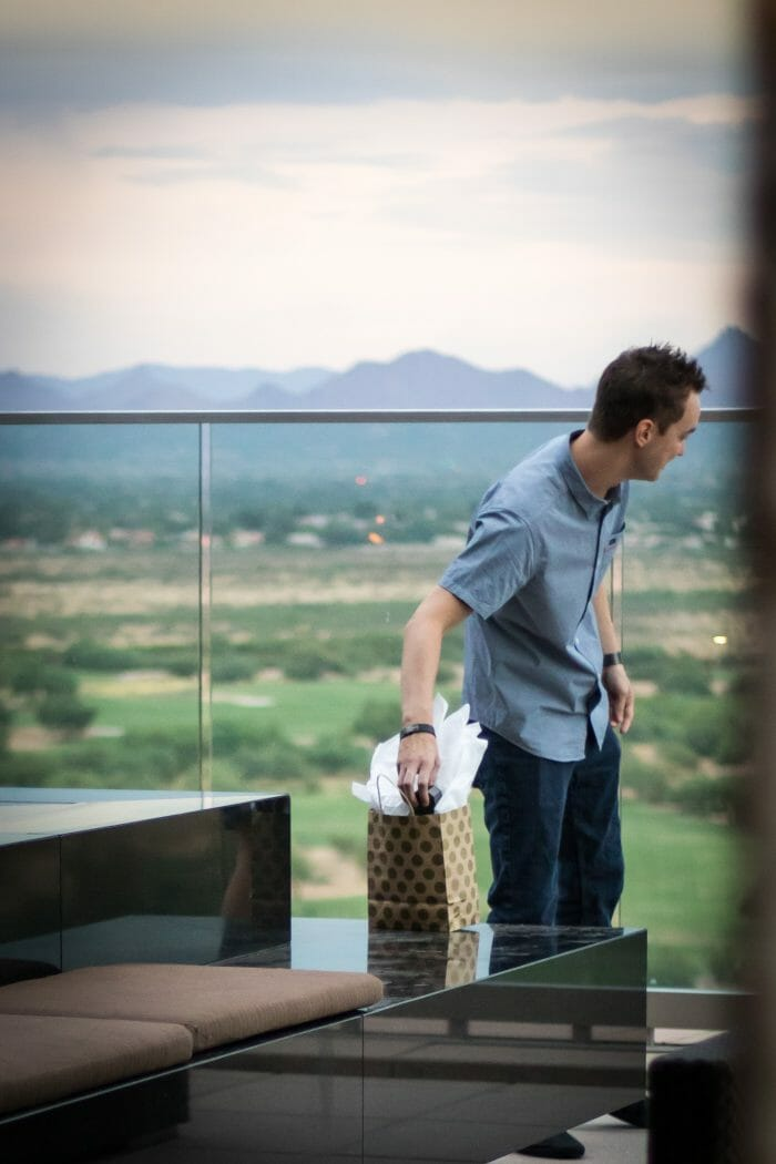Amy's Proposal in Scottsdale, Arizona