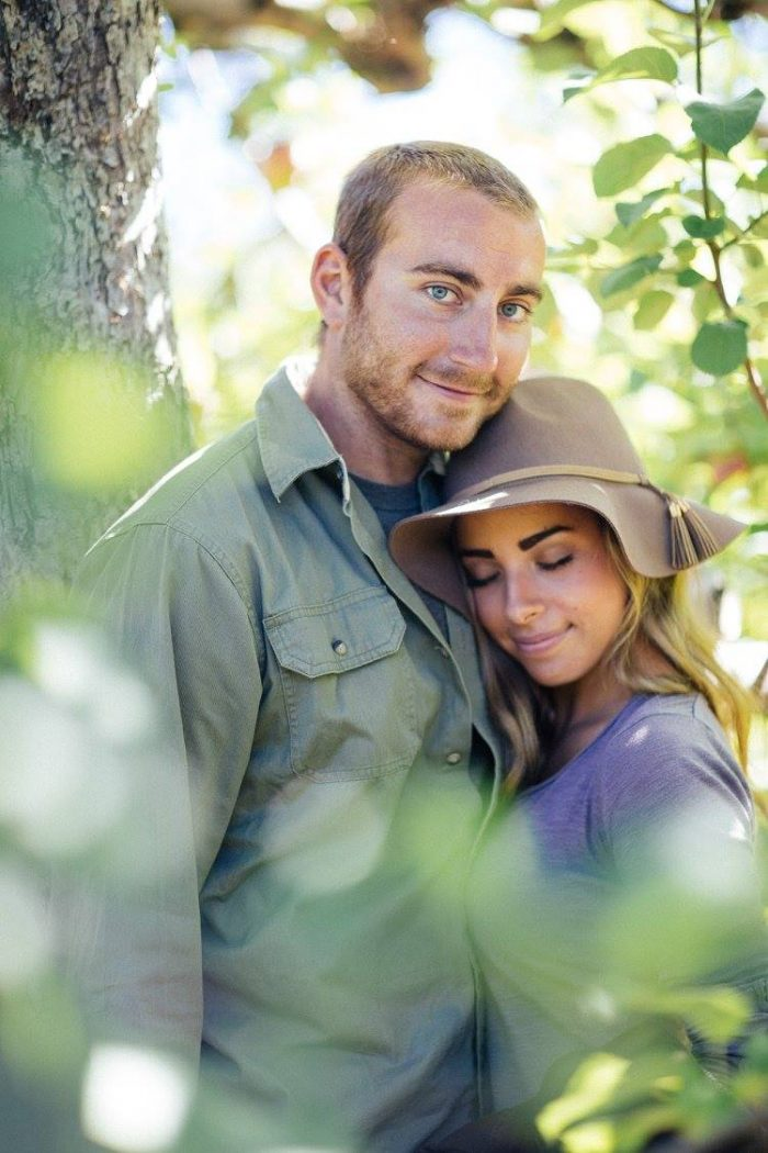 Sarah and Matthew's Engagement in Pennings Orchard, Warwick, NY