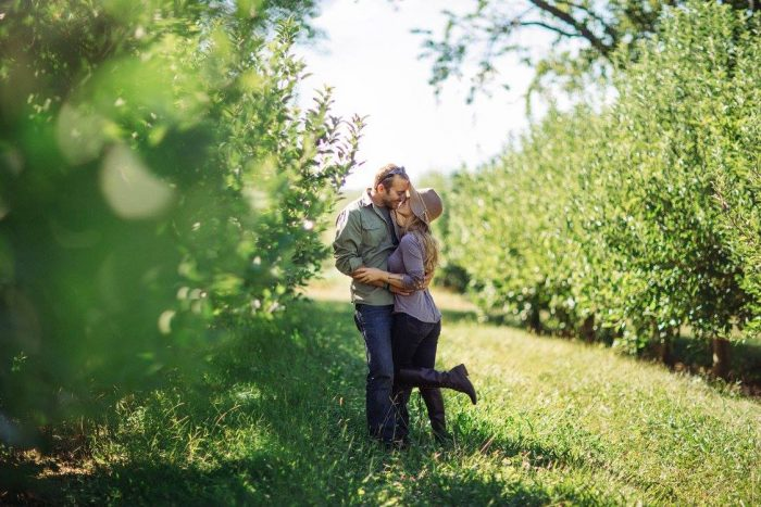 Where to Propose in Pennings Orchard, Warwick, NY