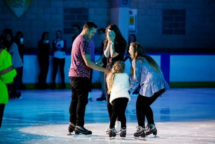 Where to Propose in Skatetown Ice Arena