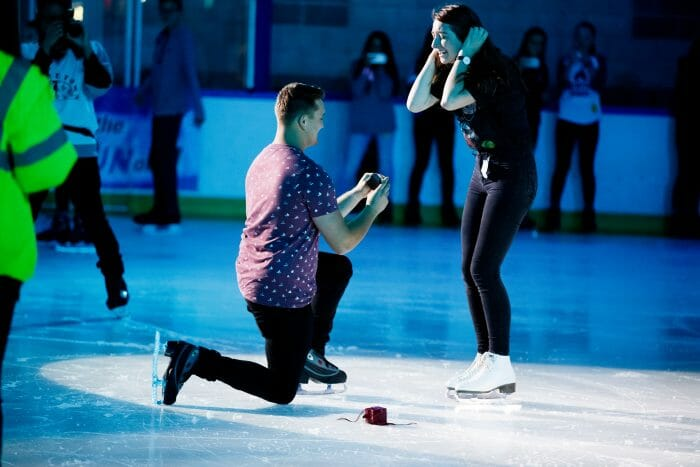 Ollie's Proposal in Skatetown Ice Arena
