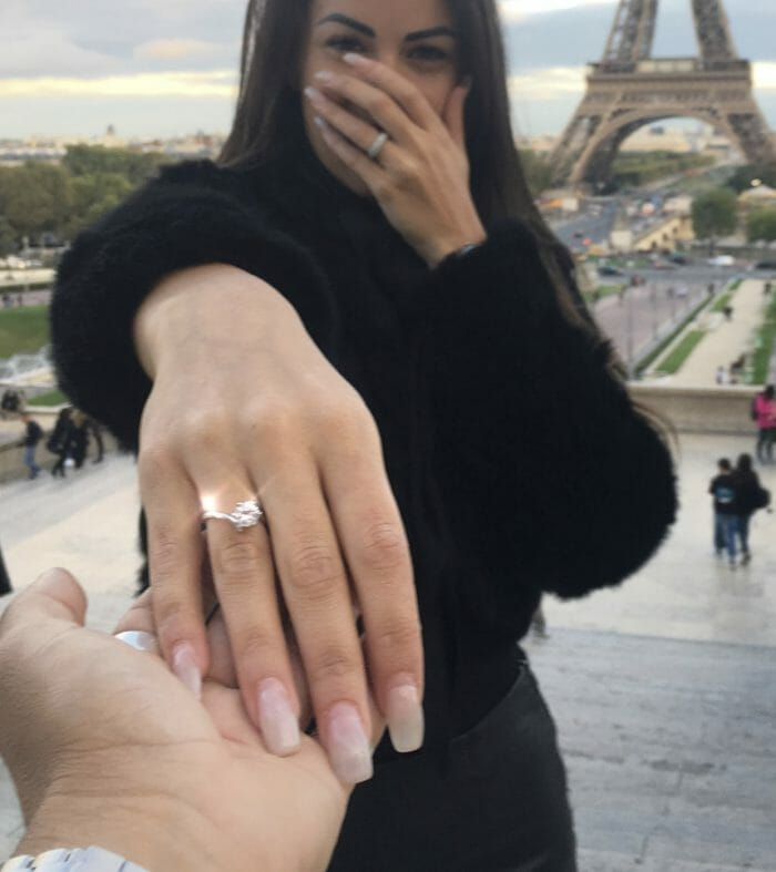 Cesyra and Marcelo's Engagement in Paris