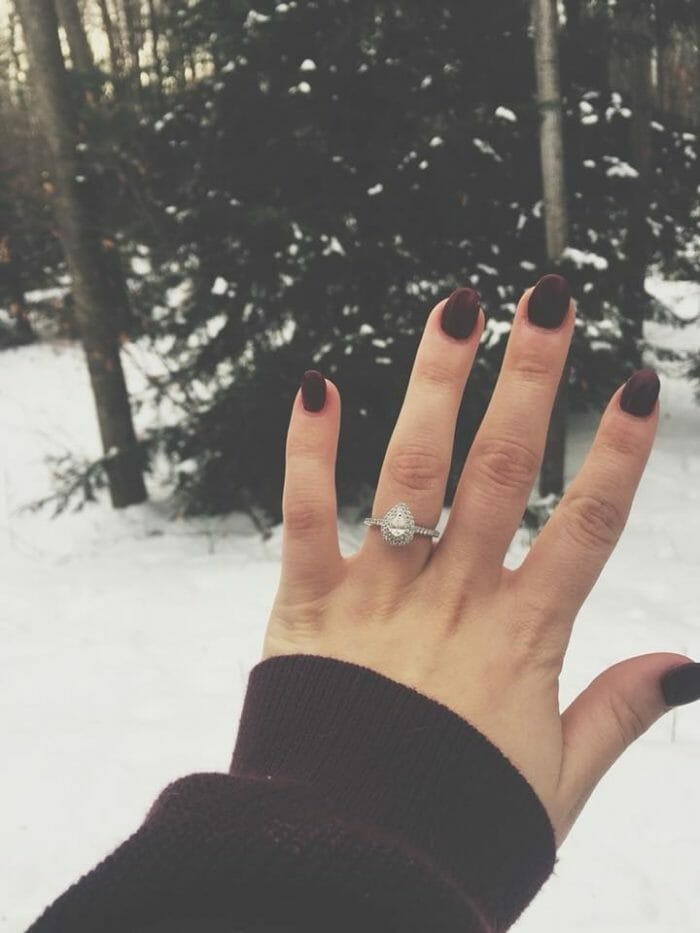 Engagement Proposal Ideas in At his Mom and Dad's