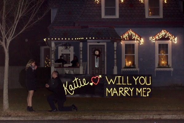 Marriage Proposal Ideas in At Edwards home on Long Island