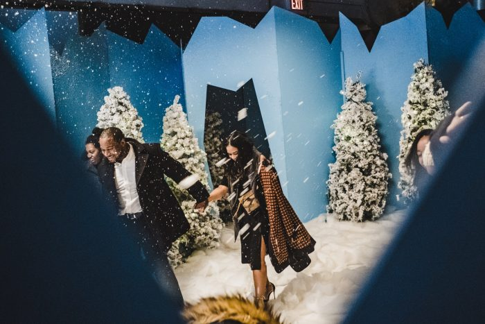 Wedding Proposal Ideas in Brooklyn - winter wonderland