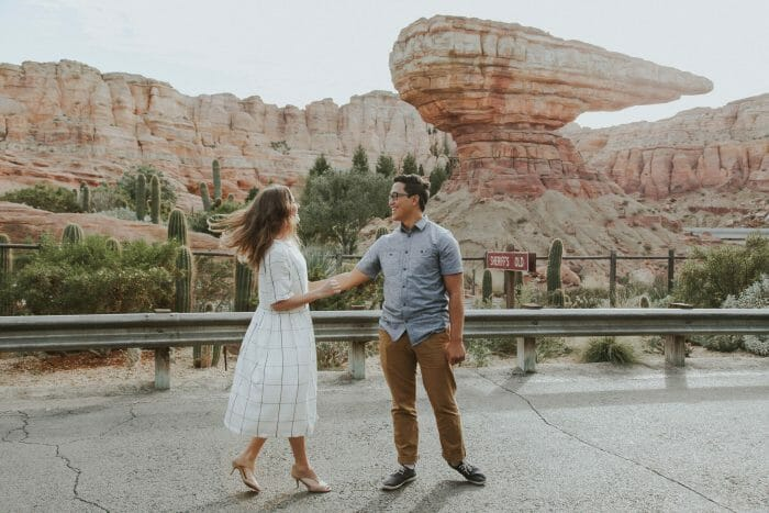 Makyla's Proposal in Disney Engagement Photos