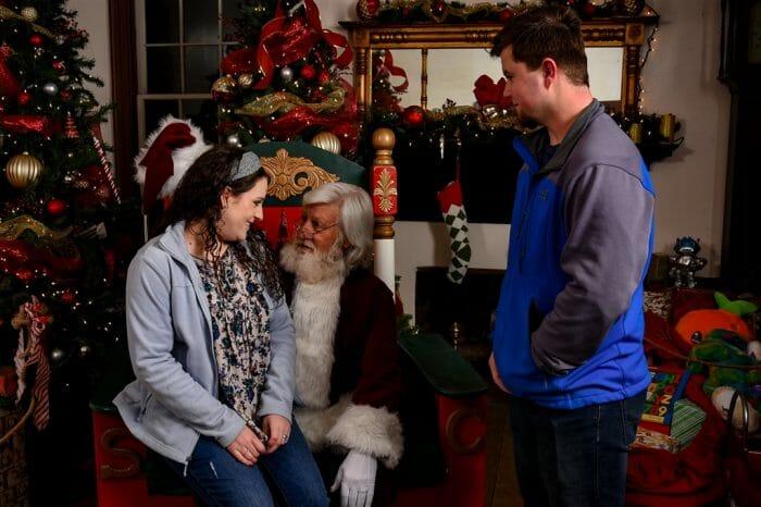 Engagement Proposal Ideas in Santa's Village in Huntsville, AL