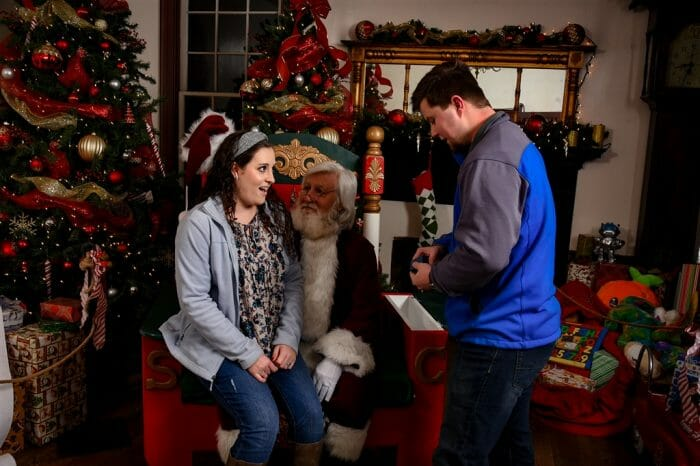 Proposal Ideas Santa's Village in Huntsville, AL