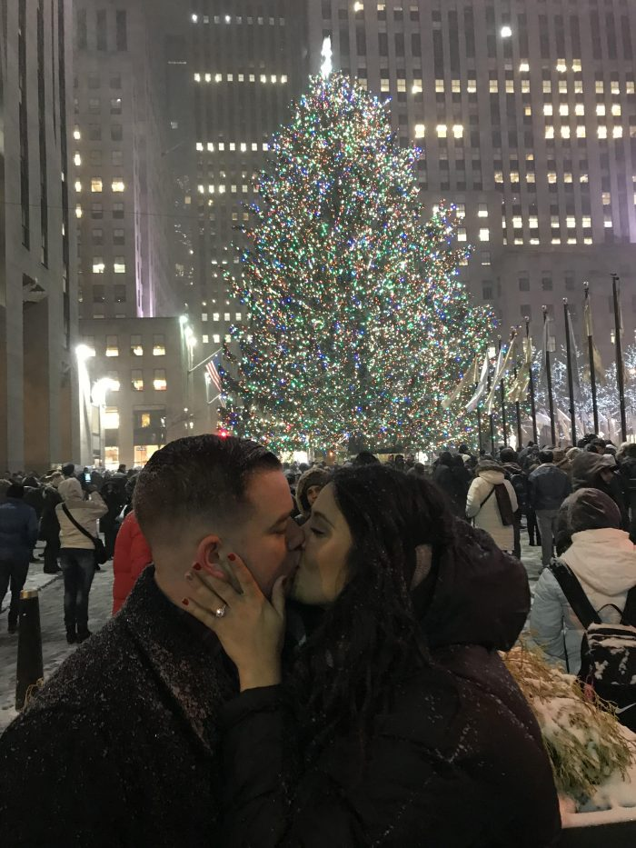 Wedding Proposal Ideas in New York City, rockafellar center