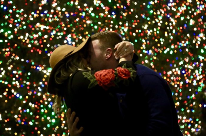 Wedding Proposal Ideas in Rockefeller Plaza, Nee York City