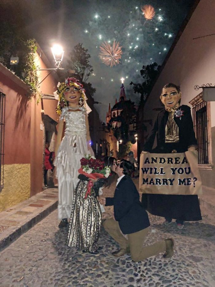 Marriage Proposal Ideas in San Miguel de Allende