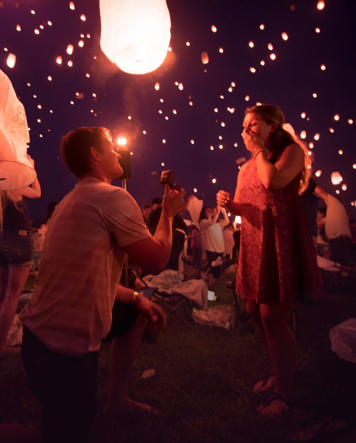 Image 9 of 16 Marriage Proposals Inspired by Lost Loved Ones