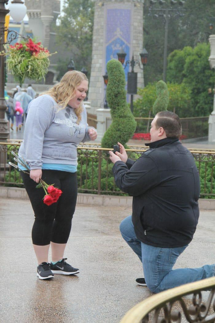 Wedding Proposal Ideas in Walt Disney World - Magic Kingdom