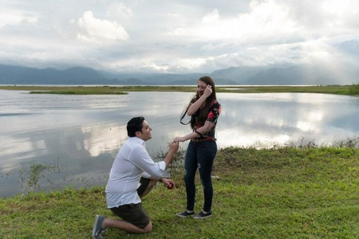 Marriage Proposal Ideas in Finca Las Glorias