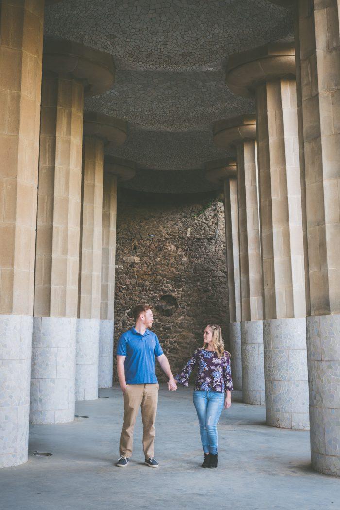 Brandi and Ben's Engagement in Barcelona, Spain