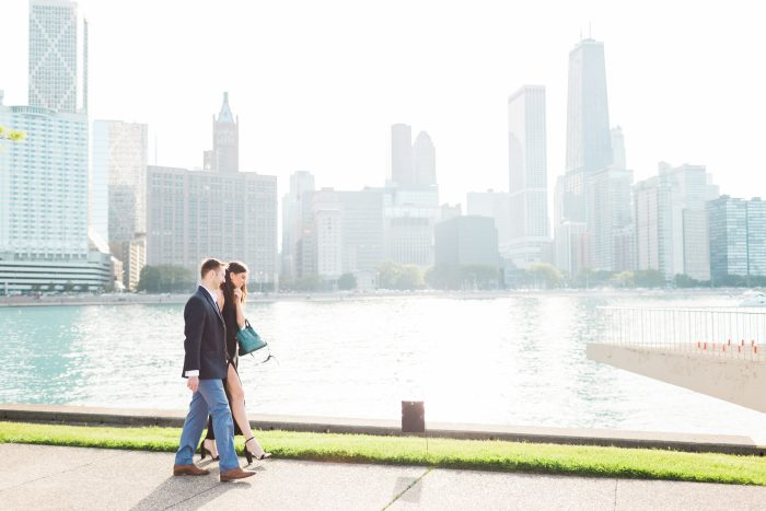 Wedding Proposal Ideas in Olive Park - Chicago, Illinois