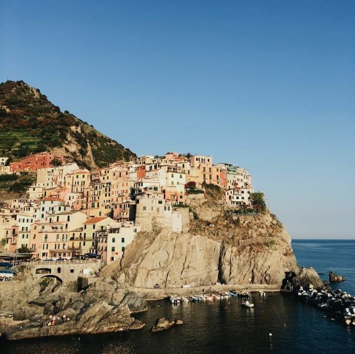 Toni and Zack's Engagement in Cinque Terre, Italy