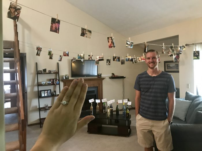 Marriage Proposal Ideas in Our apartment