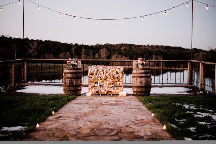 Wedding Proposal Ideas in Flagstone Farm