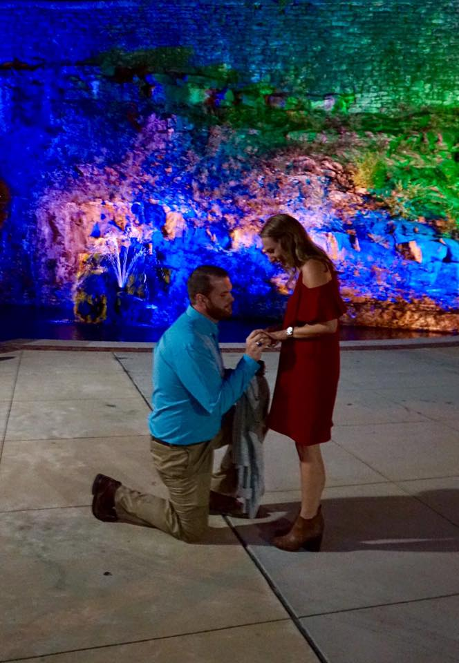 Marriage Proposal Ideas in Big Spring Park in Huntsville, AL