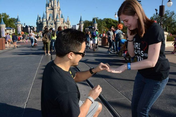 Marriage Proposal Ideas in Disneyworld