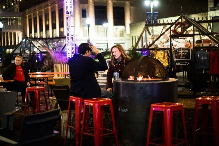 Wedding Proposal Ideas in Downtown Detroit