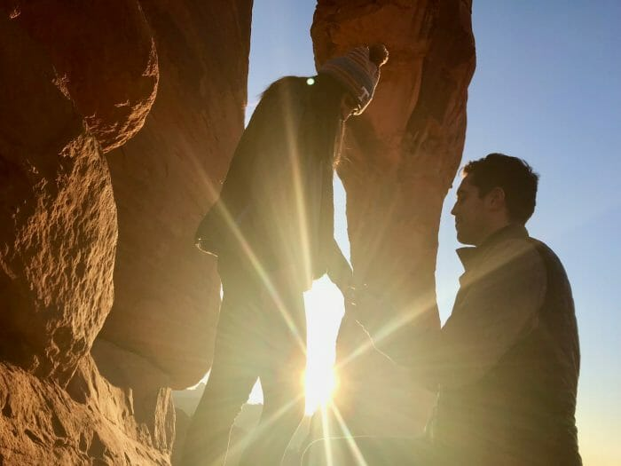 Where to Propose in Delicate Arch at Arches National Park in Utah