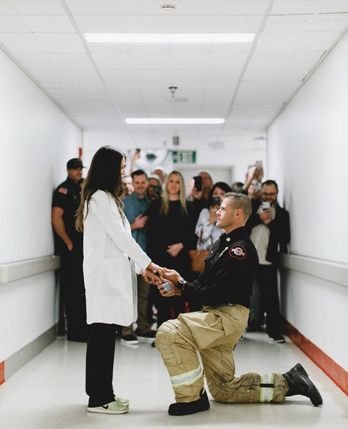 Cassie's Proposal in Emergency Department