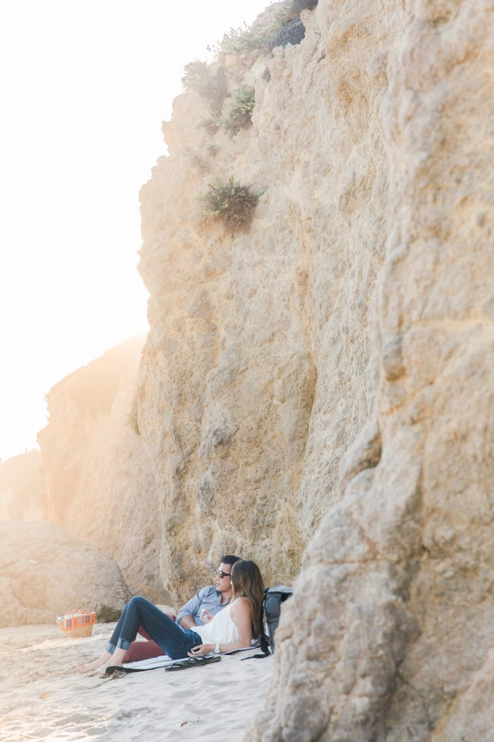 Engagement Proposal Ideas in El Matador Beach, Malibu, Ca