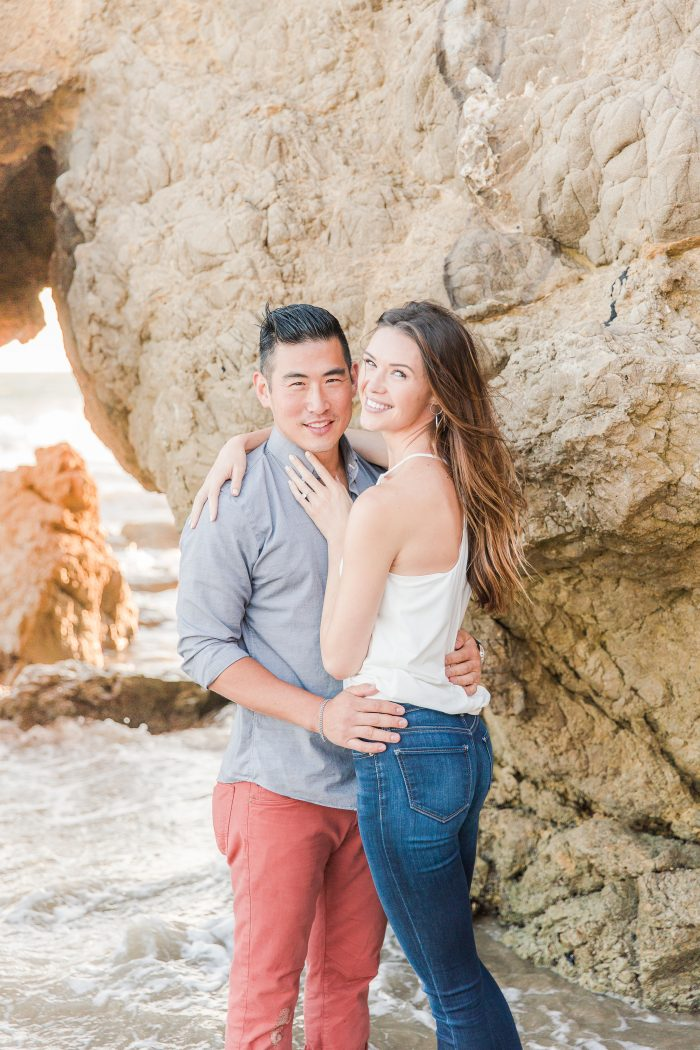 Kelsey's Proposal in El Matador Beach, Malibu, Ca