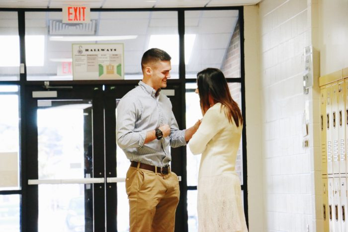 Where to Propose in Cedar Creek Middle School